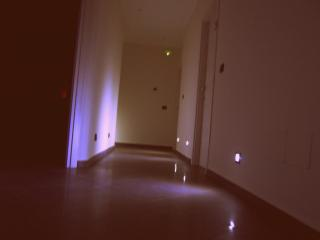 Corridoio,ambiente soft orario serale