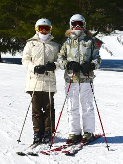 OUR GUESTS ON THE SLOPES