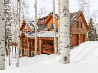 Luxurious home with a guest cabin & hot tub, 3 miles from Telluride Ski Resort!