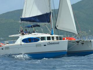 Yacht Catatonic-Crewed All-Inclusive BVI Charters, Charlotte Amalie