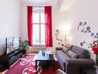Red Room Apartment Rental Near Kudamm in Berlin