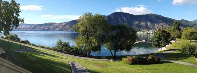 View of the Lake from the Patio