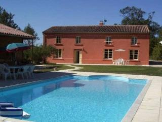 Large villa with pool near Carcassonne