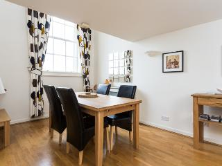 Very spacious dininng area to the dining kitchen.  2nd Tv, and comfortable chairs, Minster View.