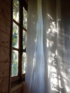 Lumière du matin du lit