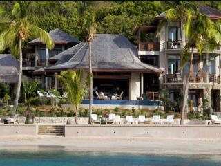 Luxury 5 bedroom Virgin Gorda, BVI villa. Luxury Beachfront!, Virgen Gorda