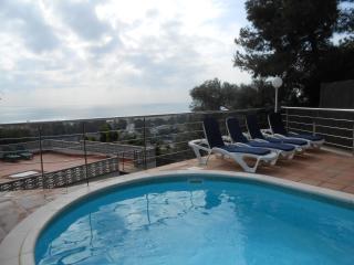 Casa mediterránea -  Impresionantes vistas al mar, Castelldefels