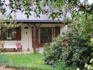 Secluded cottage in woodland setting with own lake, Linieres-Bouton