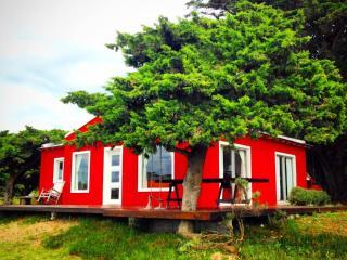 CASA MADERO cabaña Campo & Mar, Costa Atlantica, Mar de Ajo