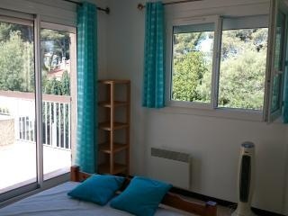 Pavillon climatise dans Residence de Vacances pour 4 a 6pers a 850 m de la mer.