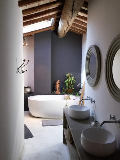 salle de bain commune aux 2 chambres