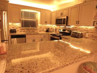 The newly renovated Kitchen. Granite countertops!