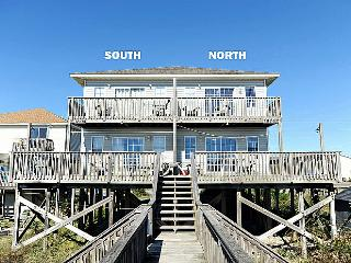 Gimme Shelter - Stunning Oceanfront Duplex, Families and Pets Welcome!