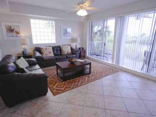 Plush leather couch and love seat combination