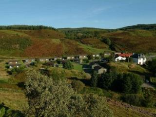 Cosy and welcoming lodges nestled within Lerags Glen., Oban