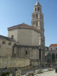 Split, Diocletian's palace, UNESCO heritage site.
