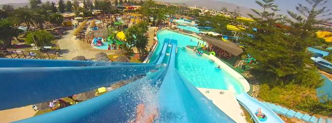 Fuengirola Aqua Park; only a 15 minute bus ride away!