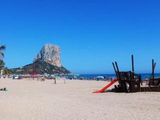 Spacious  apartment  - second line from the sea, Calpe