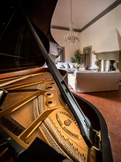 Living Room's wonderful Piano..