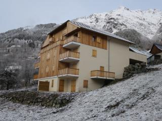 Modern 4 bedroom apartment with garden in Vaujany, near Alpe d'Huez