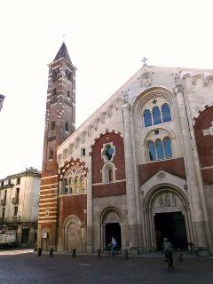 the 12th century cathedral