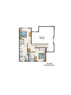 Second floor layour