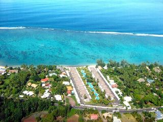 Appart Sunset Beach Carlton - plage piscine- 4 per, Punaauia