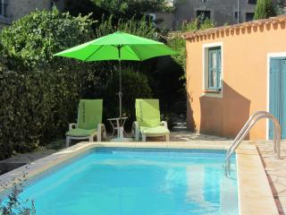 Terrace house with pool, Nezignan l'Eveque