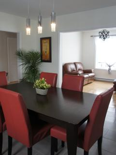 SHared kitchen and living rooms