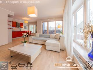 One bedroom family apartment with bathtub, Tallinn