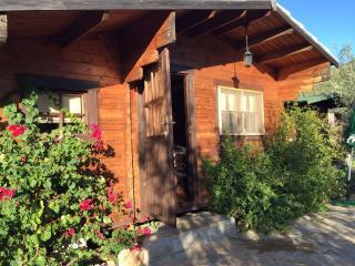 Preciosa casita de madera en el campo., Ojen