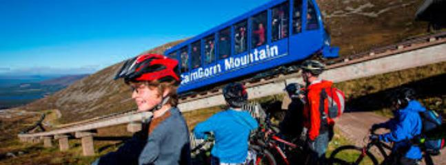 CairnGorm Mountain is home to Scotland's only funicular railway