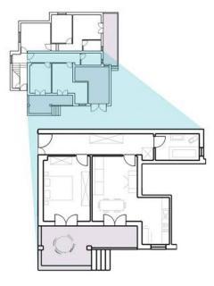 A3 Tea(2+2): floor plan
