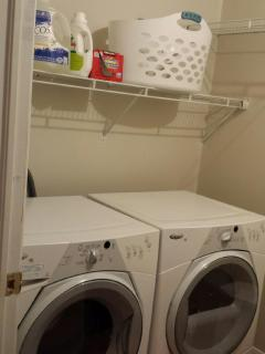 laundry room on main floor