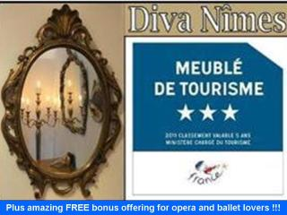 Diva-Nimes - unique ambiance in a prime location