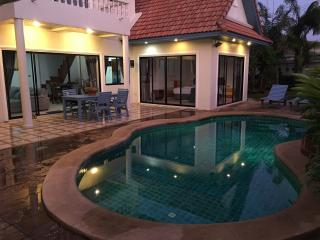 3br pool villa 200m from beach