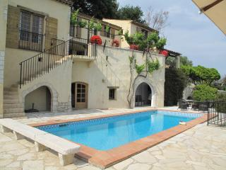 La Colle sur Loup villa fantastic sea view, pool, La Colle-sur-Loup
