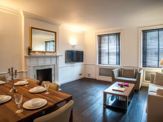 A spacious two-bedroom apartment in South Kensington., London