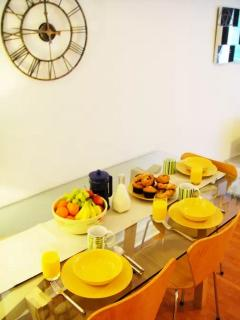 Enjoy breakfast at home before venturing out into lovely Covent Garden & surrounding areas