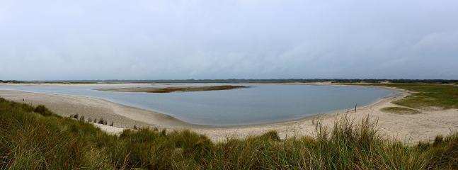 De Slufter. Een schitterend gebied waar de zee enkele keren per jaar vrij spel heeft