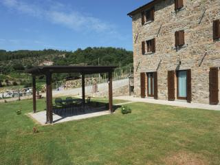 Renovated modern farmhouse with garden and pool., Pietraia
