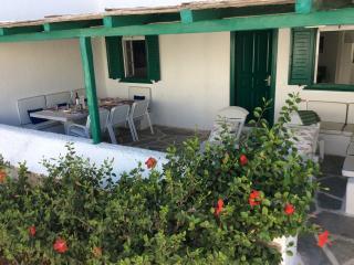 Charming house on private beach, Ornos