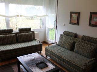 Salón con 2 sofás cama