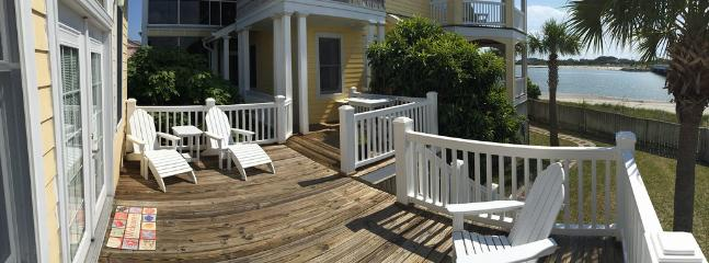 Sun Deck in front of Pool House