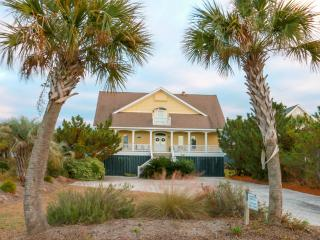 Oceanfront Home with Large Screen Porch, Views, and Private Beach Access!