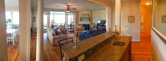 1st fl Living Area with Wet Bar