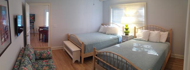 1st fl Guest Bedroom with 2 Queens