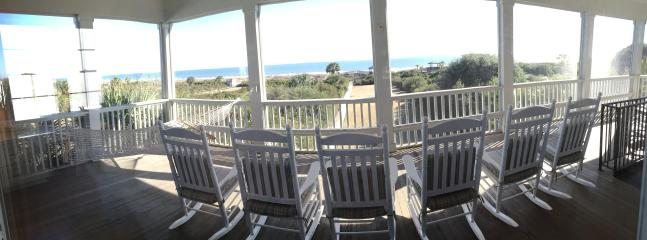 Ocean View from 2nd fl Screened Porch