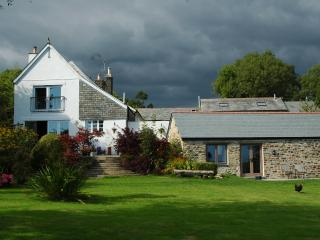The Linhay and Farm House - Storm approaching