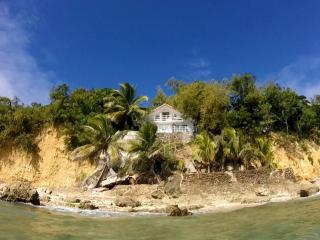 Stunning view of the house from the beach!